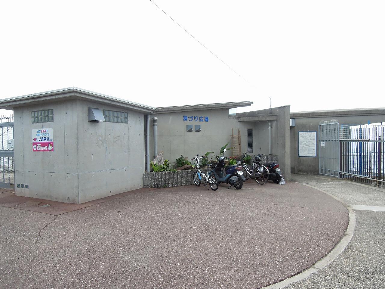 臨海 鳴尾 公園 釣り 浜